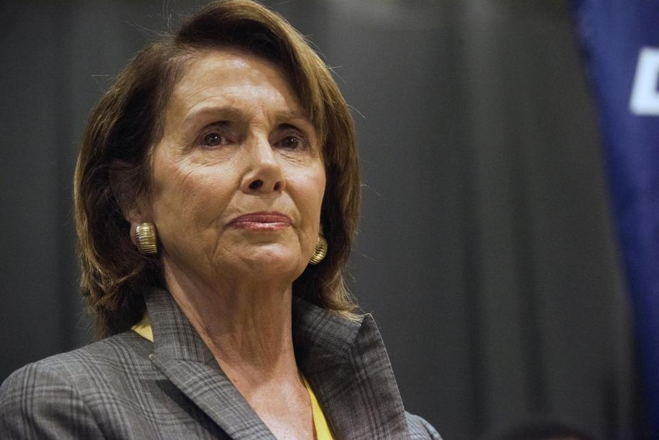 House Minority Leader Nancy Pelosi is on the wrong side of history on this one.