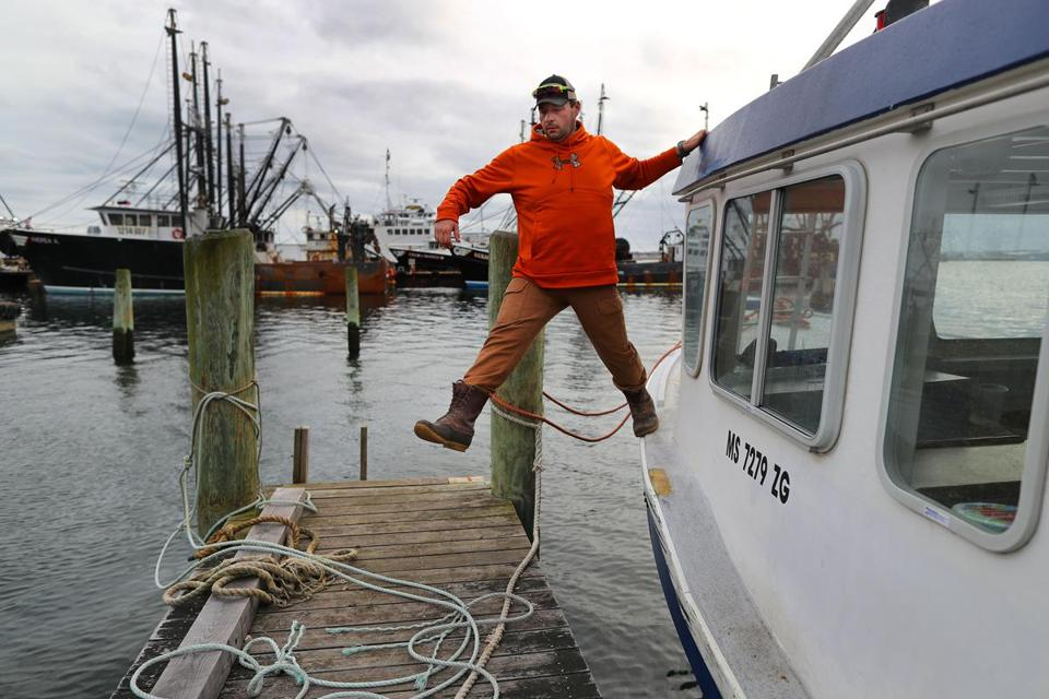 Tomkiewcz is one of fewer than two dozen lobstermen left in the fishing region that stretches from Nantucket Sound to Long Island Sound.