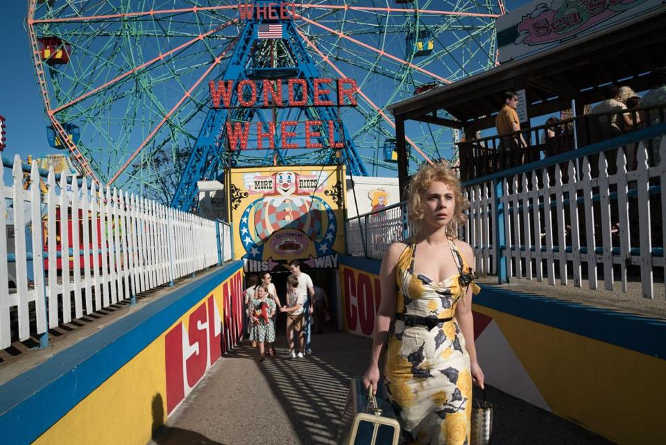 "Juno Temple in Woody Allen's ""Wonder Wheel."""