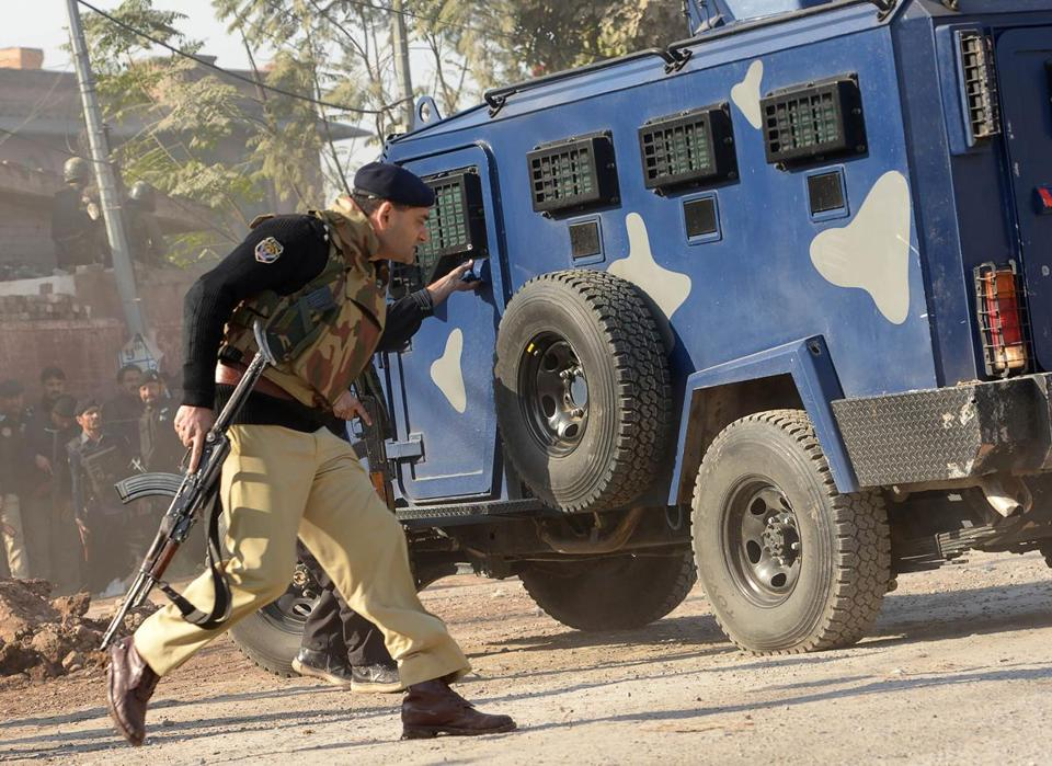 12 killed in Pakistan varsity attack