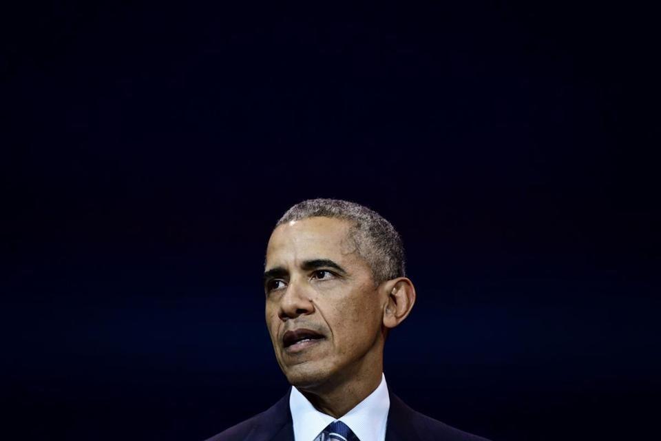Obama cites 'absence of American leadership' on climate