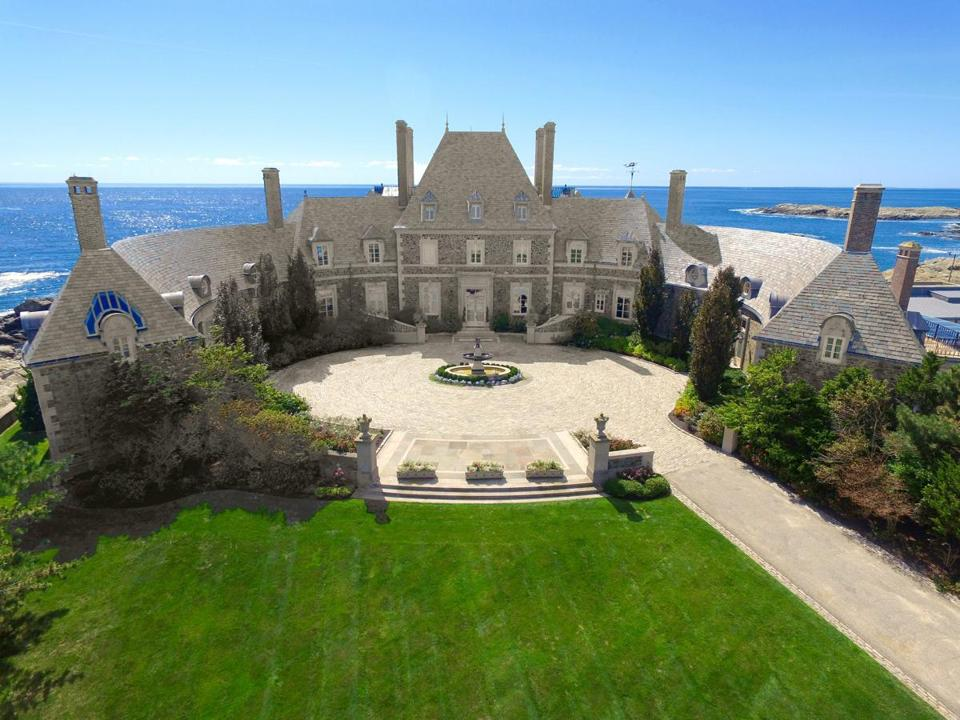 Seafair, the mansion on Ocean Avenue in Newport that has been purchased by Jay Leno and his wife.