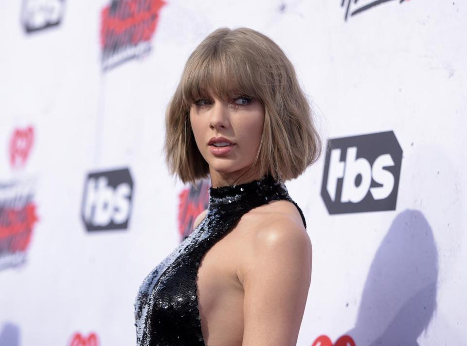 Taylor Swift in 2016.