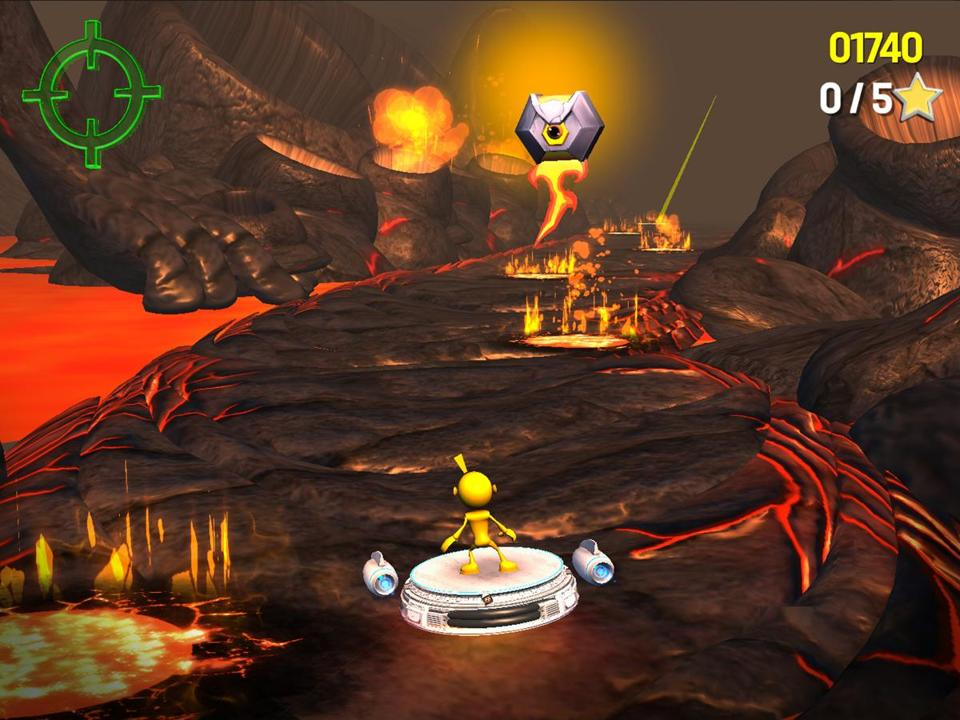 A screenshot from Akili's video game, designed to treat ADHD.
