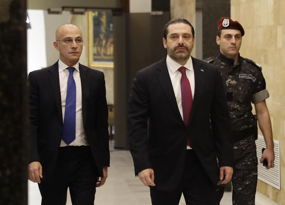 Lebanese Prime Minister Hariri rescinds resignation