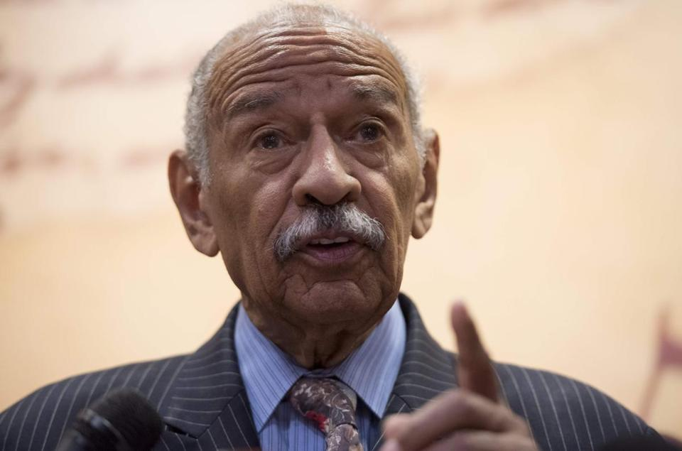 Representative John Conyers, Democrat of Michigan, is facing a growing number of claims of sexual impropriety. Conyers, 88, said Tuesday he'd leave Congress immediately.