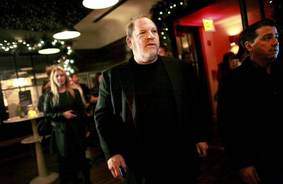 Harvey Weinstein at a party in New York.