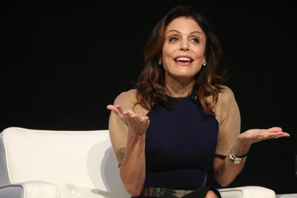 "BOSTON, MA- DECEMBER 06, 2017: Bethenny Frankel during ""The Cocktail for Success, A Conversation With: Bethenny Frankel, Skinnygirl creator, self-made businesswoman and branding guru"" during the Massachusetts Conference For Woman at the Boston Convention and Exhibition Center in Boston, MA on on December 06, 2017. (CRAIG F. WALKER/GLOBE STAFF) section: Arts reporter:"