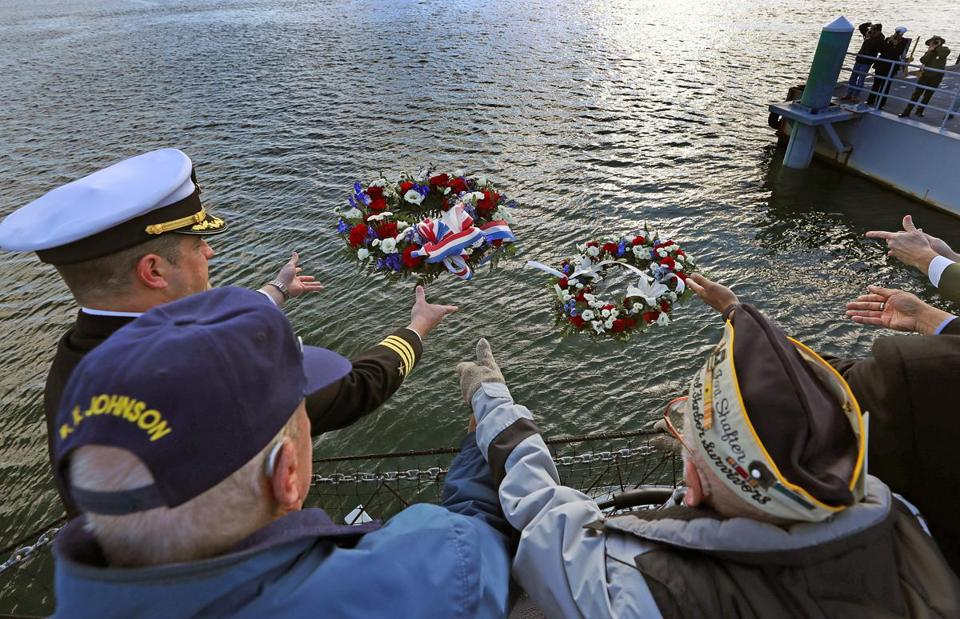 Veterans remember Pearl Harbor with wreath ceremony in Bangor