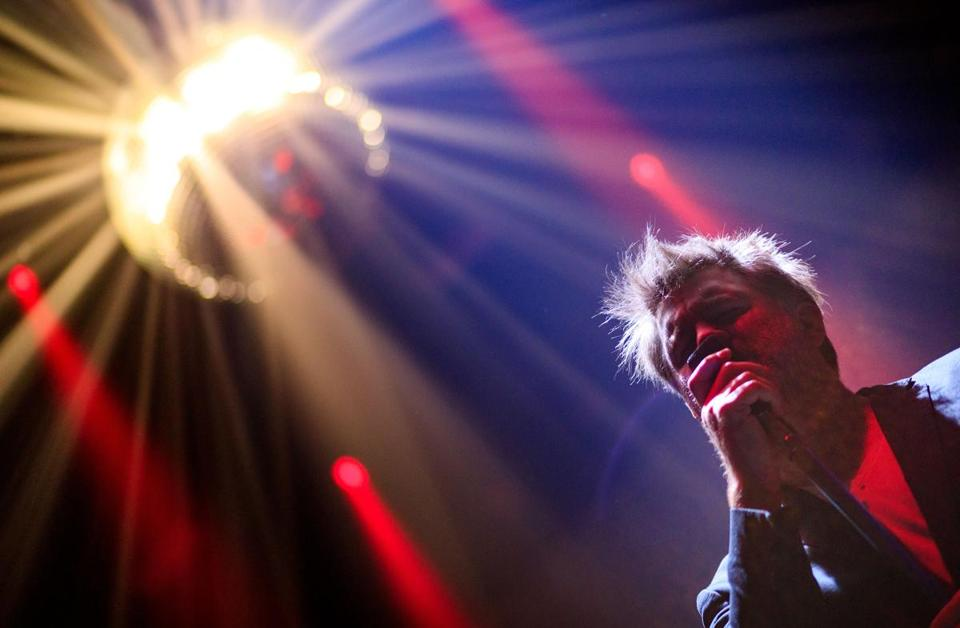 James Murphy of LCD Soundsystem performs at The Hollywood Palladium last month.