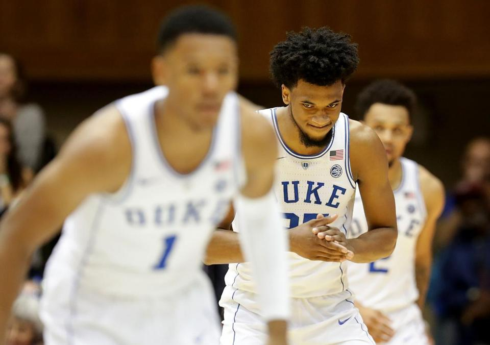 Duke men's basketball stunned by Boston College in first loss of season