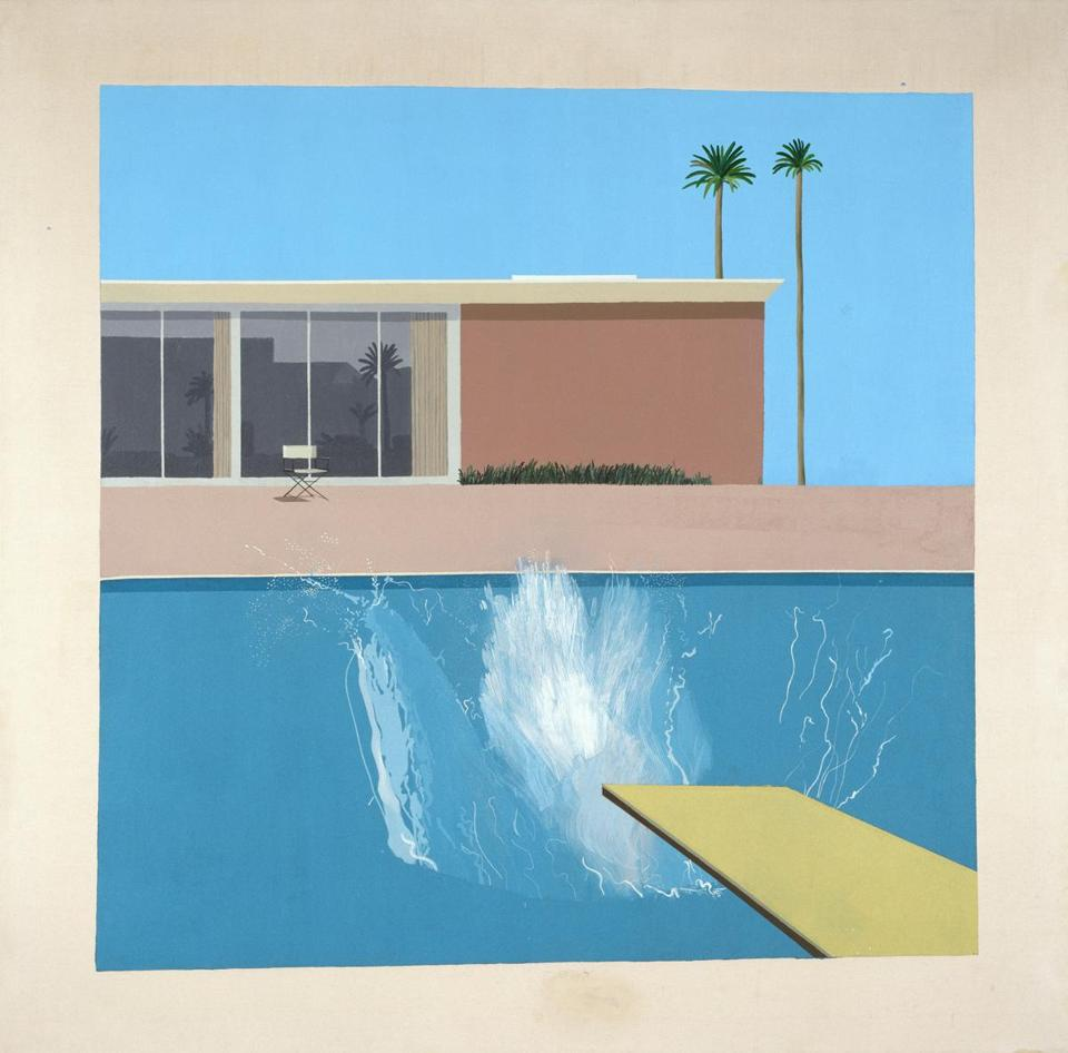 "David Hockney's ""A Bigger Splash"""