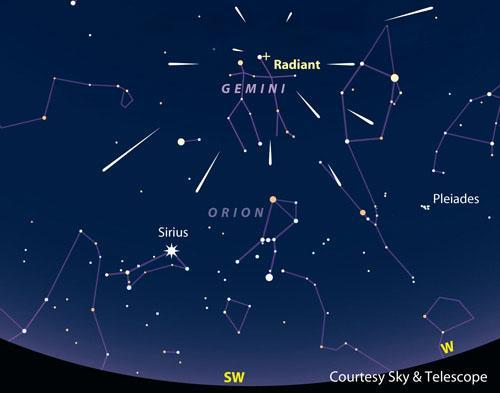 Geminids meteor shower to grace the skies on Wednesday night