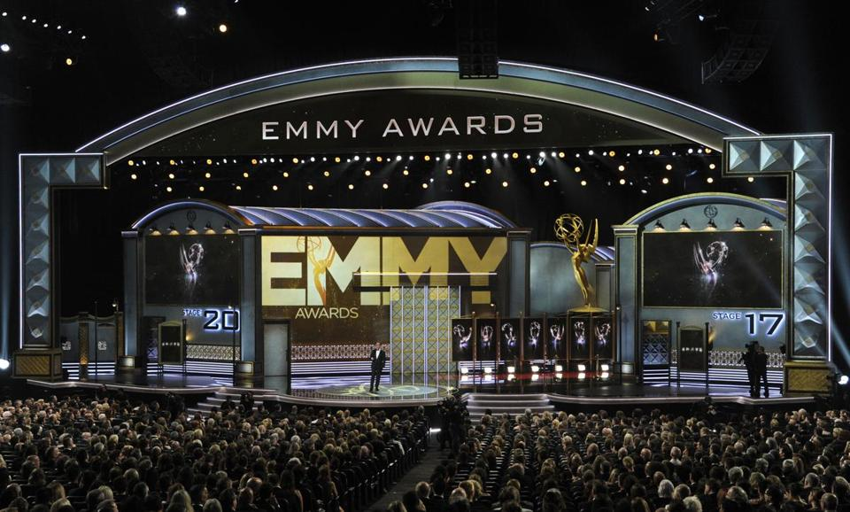 The scene at the 2017 Emmy Awards in September.