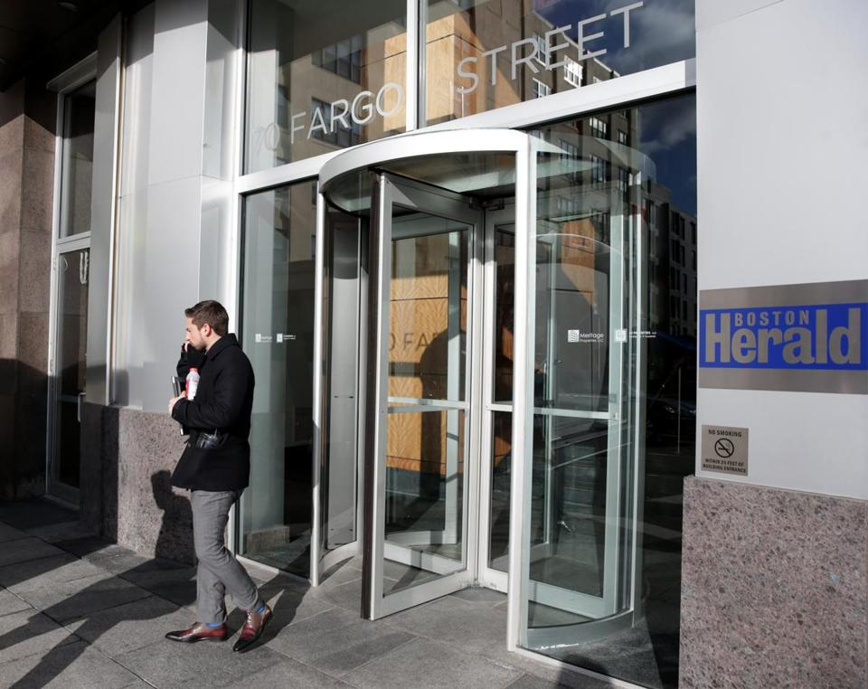 The Herald's offices are currently located on Fargo Street in the Seaport District.