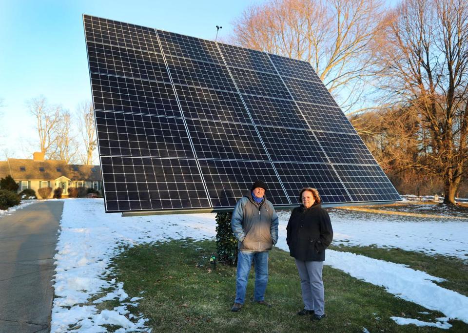 Solar Monster Sparks Suburban Scrap The Boston Globe