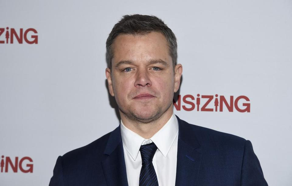 Asks Joan Vennochi: Isn't it better to hear what such men as Matt Damon have to say than to tell them to just shut up?