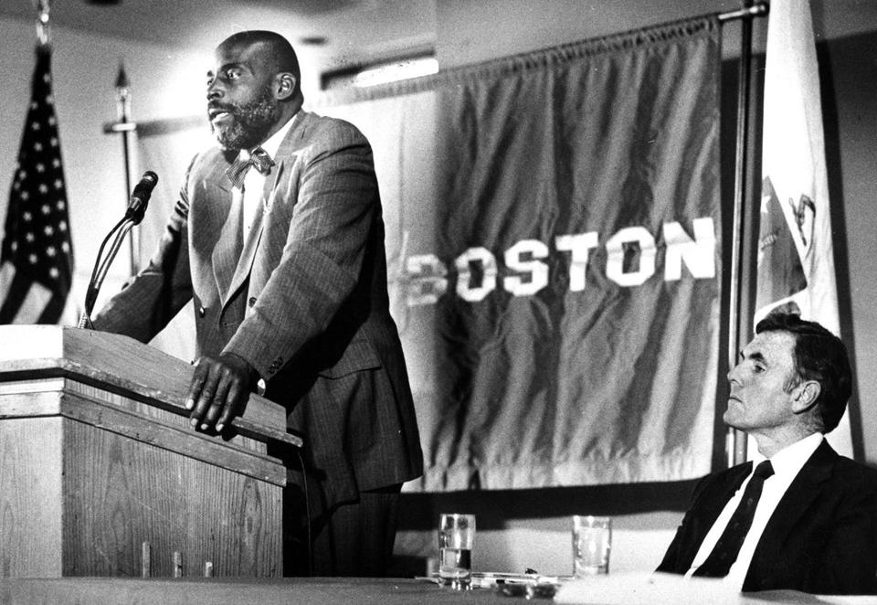 The closest Boston has come to electing a black mayor was Melvin H. King in 1983. King lost the final election that year by 30 percentage points.