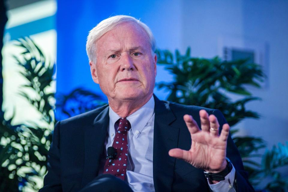 "Chris Matthews, host of MSNBC's ""Hardball."" MUST CREDIT: Photo for The Washington Post by Andre Chung"