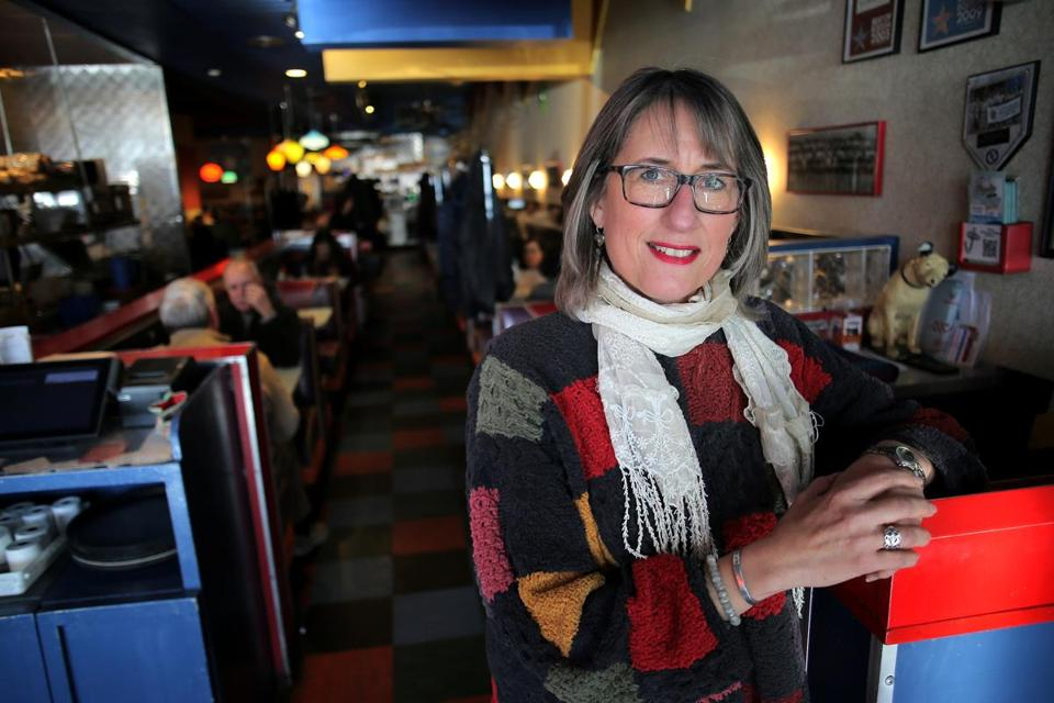 Johnny's Luncheonette co-owner Karen Masterson.