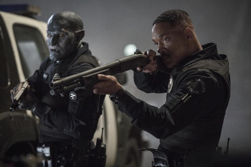 "Will Smith stars in the Netflix thriller ""Bright."""