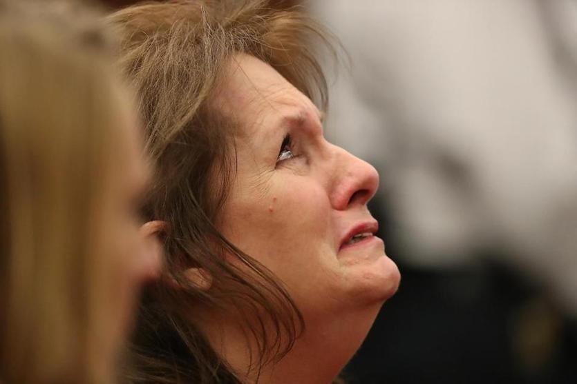 Lisa Brown, mother of Joshua Messier, reacted in court last week after guards were found not guilty in his death.