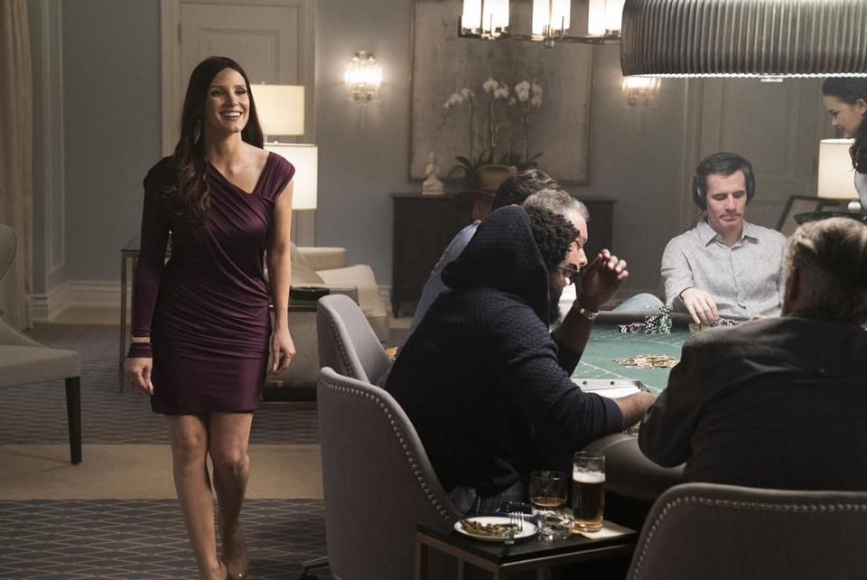 """Molly's Game"" stars Jessica Chastain as an ex-skier who went on to run an illegal high-stakes poker game."