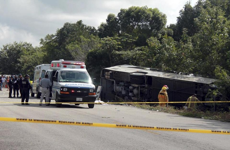 Quebec woman dies in Mexico bus crash