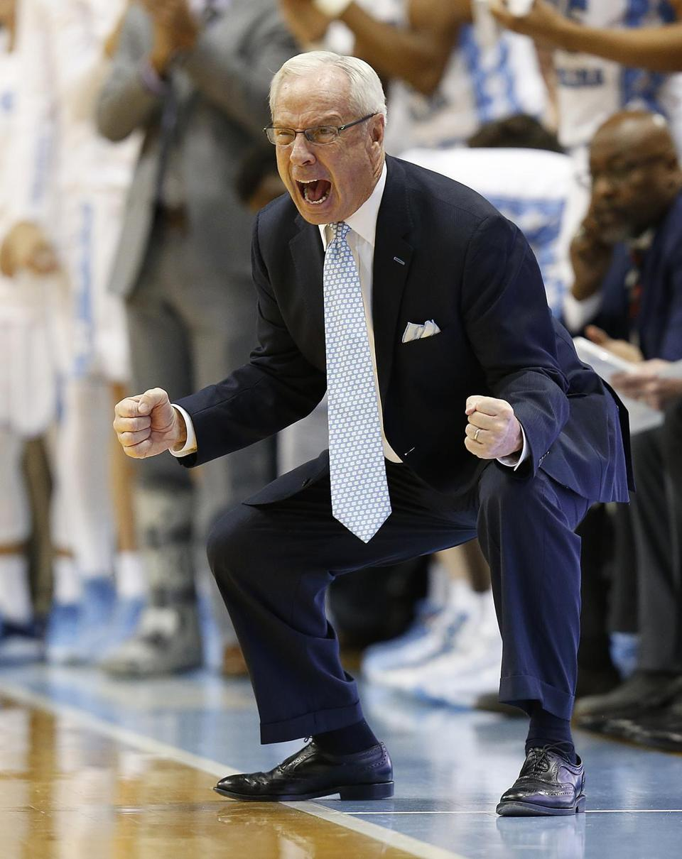 "The full-throated effort of North Carolina coach Roy Williams to rally his team fell upon deaf ears. ""We've got to by God be ready to play and not act like we're prima donnas,'' Williams said of the defending national champions."