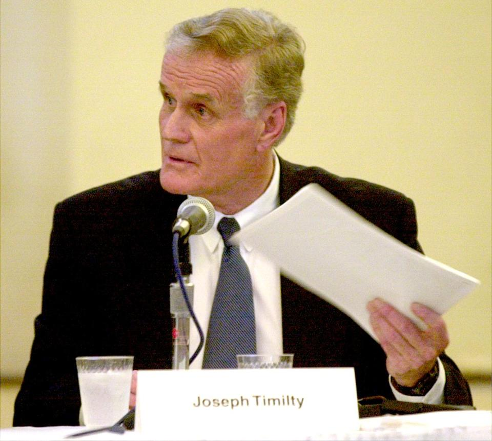 Joseph Timilty during a 2001 event.