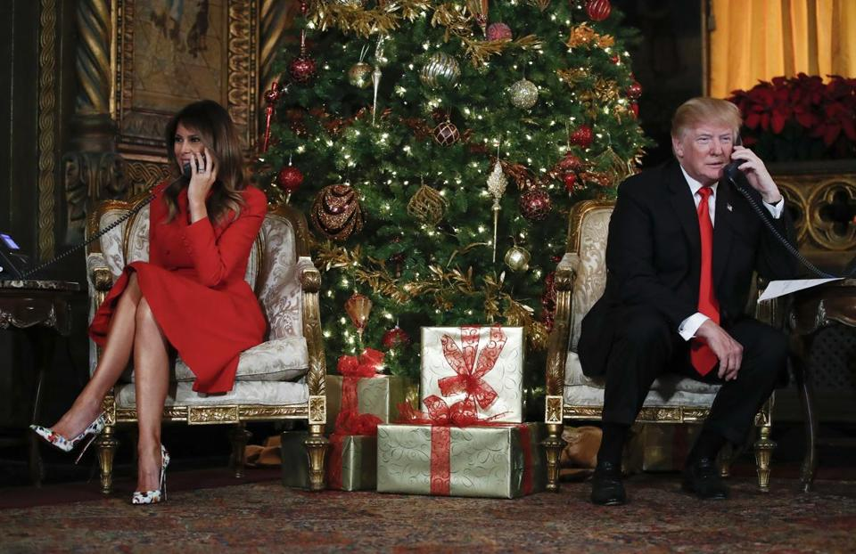 Donald Trump Sends His Support to the Troops Ahead of Christmas