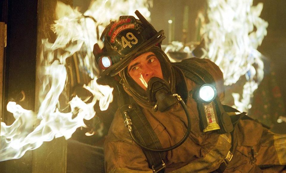"Joaquin Phoenix in ""Ladder 49."""