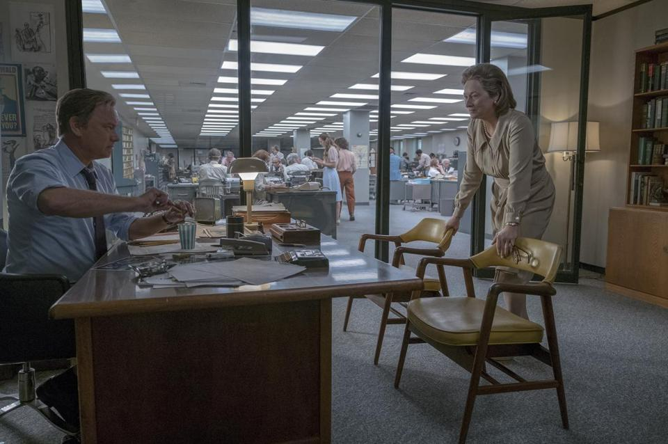 "Tom Hanks and Meryl Streep star in ""The Post."""