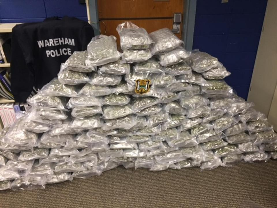 Man charged with trafficking over 100 pounds of marijuana