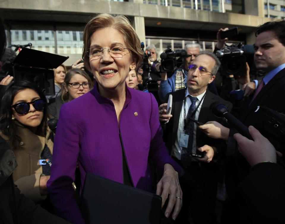 Questions about Warren's complicated relationships with Native American tribes gained steam recently.