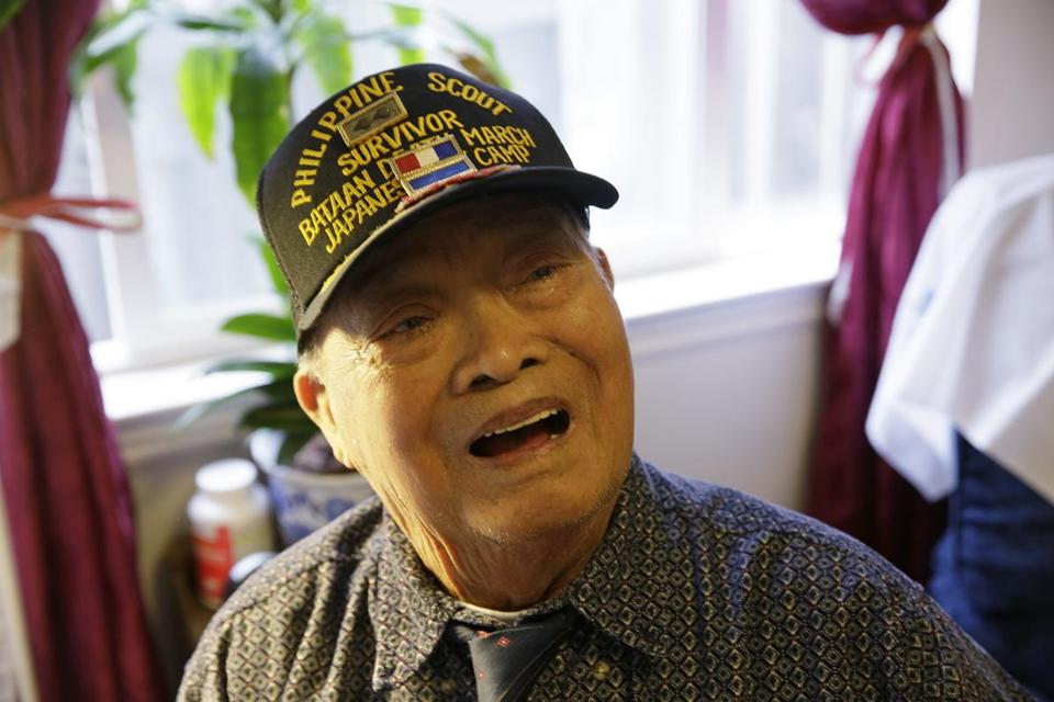 Mr. Regalado, who was born in the Philippines, reminisced on his 100th birthday last April at his home in California.