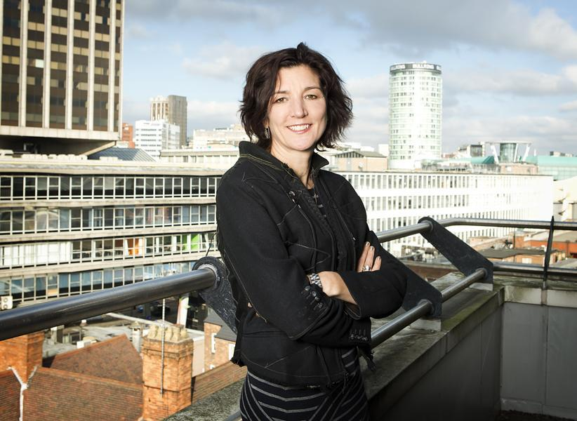 Fiona Allan, artistic director and chief executive of the Birmingham Hippodrome.