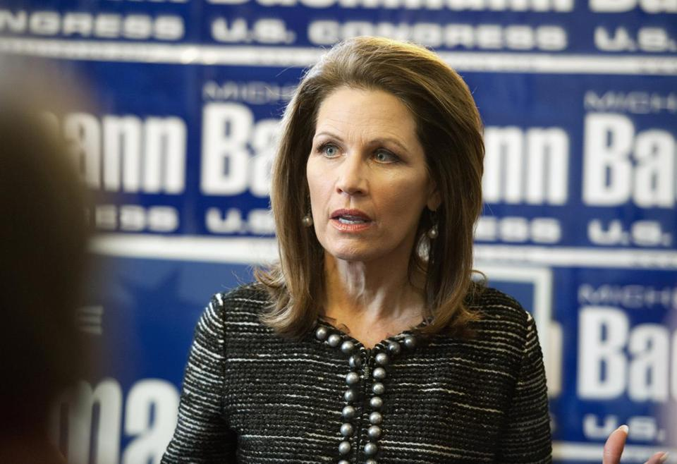Michele Bachmann served Minnesota's Sixth Congressional District from 2007 to 2015.