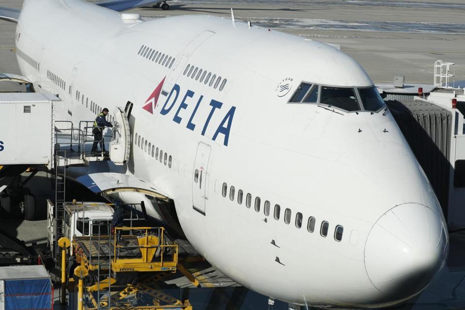London flight which returned twice lands in UK