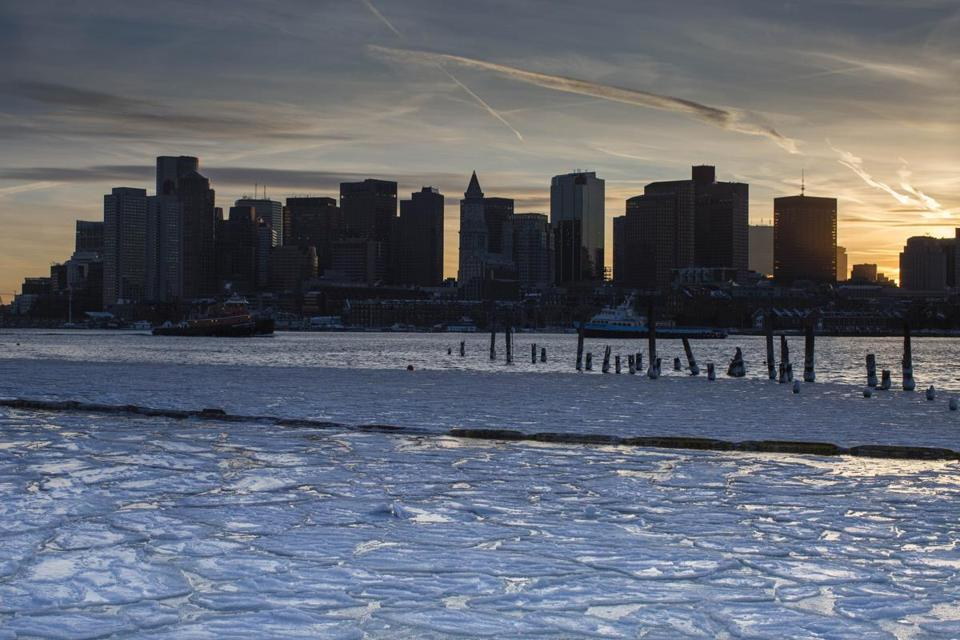 The heavy rain and melting snow and ice could lead to flooding, meteorologists say.