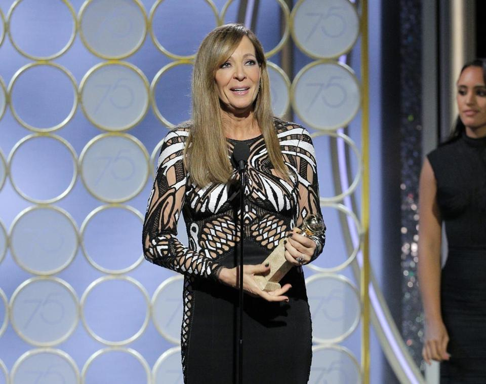 AP		Allison Janney accepted the award for best supporting actress