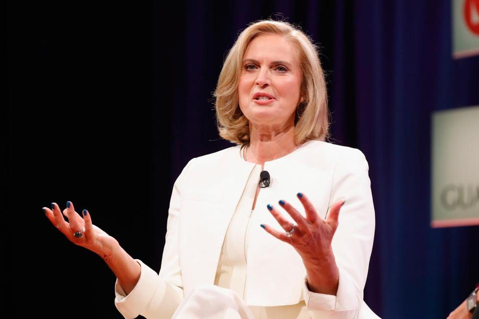 Ann Romney spoke at the Fortune Most Powerful Women Summit on Oct. 10.