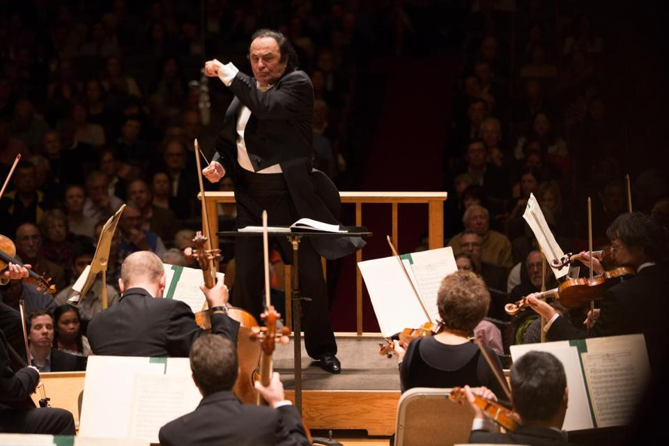 Maestro Charles Dutoit conducted the BSO in 2016.