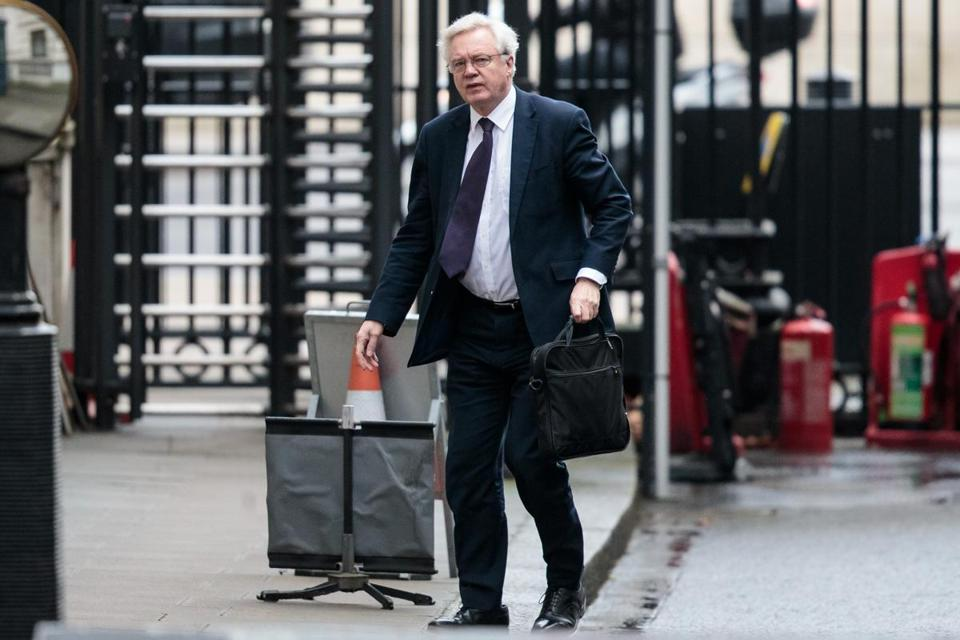 Brexit Secretary David Davis co-authored an op-ed for Wednesday's edition of German daily Frankfurter Allgemeine Zeitung that stated ''the economic partnership should cover the length and breadth of our economies including the service industries — and financial services.''