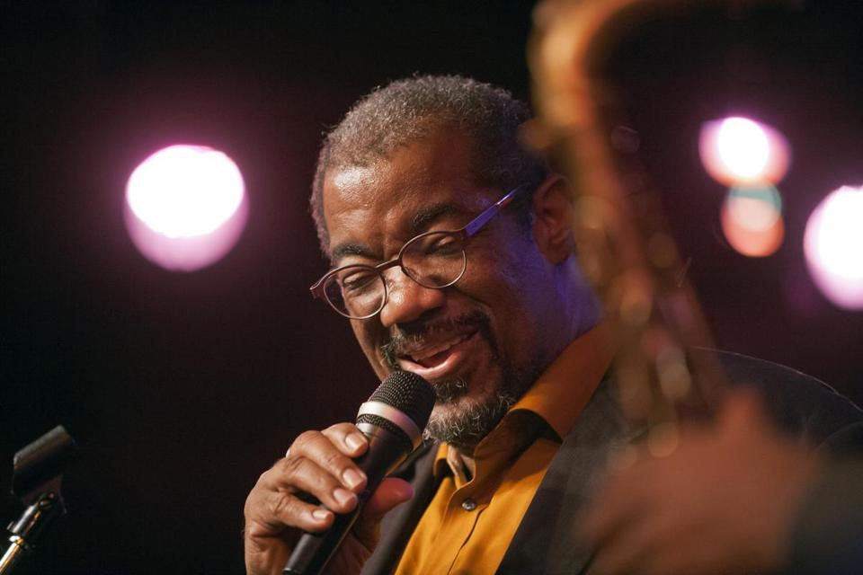 Kevin Mahogany performed at Birdland in 2014.