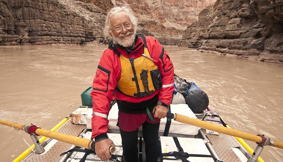 John Running on the Colorado River in 2010.