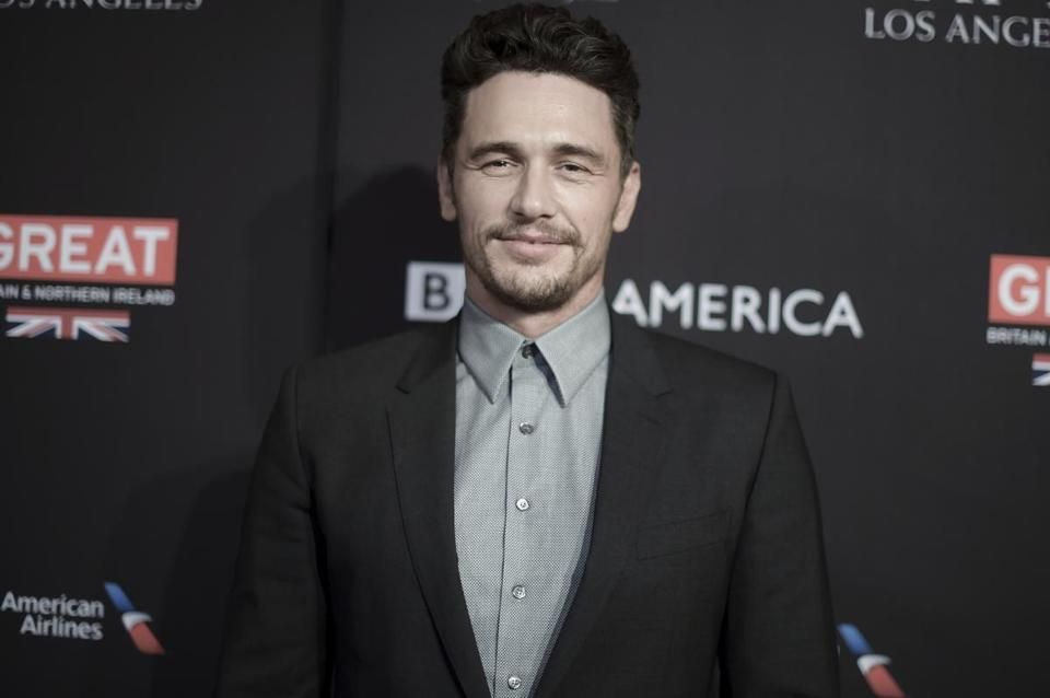 James Franco 'letting it be'