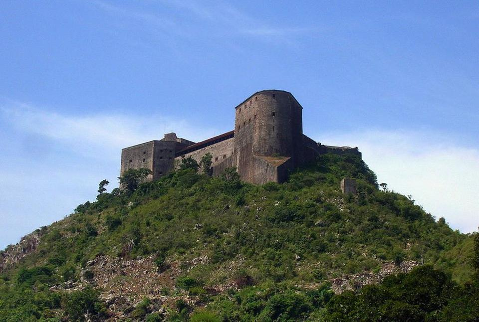 The Citadelle Laferrière was built in 1820, after Haiti gained its indepence from France.