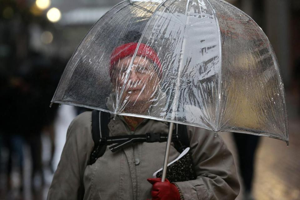 No snow to fall on wet Sunday