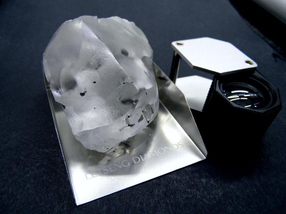 Lesotho: Giant 910-Carat Diamond Found in Lesotho